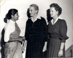 Sister Jean Myklebust, Sister Thyra Lawson, and Dr. Amy Augustus