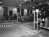 Automobile testing station