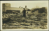 24th & Ohio Street after the tornado at Omaha, Nebr.,  Mar. 23, 1913