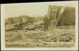 26th & Burdette Streets after the tornado of Mar. 23, 1913, Omaha, Nebr.