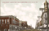 Third Street, looking west from Palmer House, Grand Island, Neb.