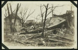 40th & Emile Streets, Omaha, Nebraska, damage probably from tornado of March 23, 1913