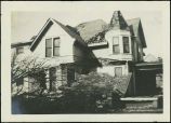 Aaron T. Klopp house, Omaha, Nebraska, after April 6, 1919, tornado